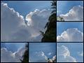 Wolken in Raum Pfarrwerfen
